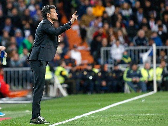 Luis Enrique chválil Barcelonu po výhře nad Realem Madrid