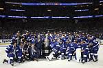 Tampa Bay slaví obhajobu Stanley Cupu. Radují se i Ondřej Palát a Jan Rutta.