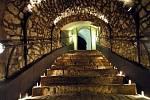 Litoměřické podzemí patří k těm největším v České republice. Chodby o délce tří kilometrů protkávají sklepy, které někde zabírají až tři patra.