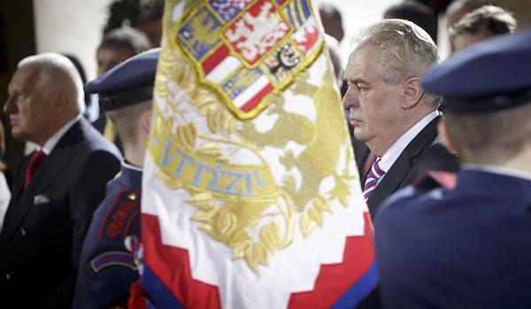 Miloš Zeman složil 8.března ve Vladislavském sále Pražského hradu prezidentský slib a na dalších pět let se ujal prezidentského úřadu.