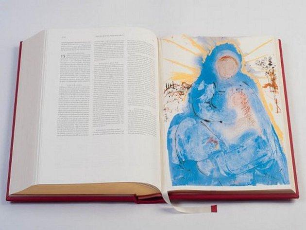 Několik posledních kusů limitované edice unikátního vydání Bible Dalí doputovalo do moravské metropole. Vystavena bude od 20. dubna po dobu biblických sedmi dní v knihkupectví Knihy Dobrovský v brněnské Galerii Vaňkovka.