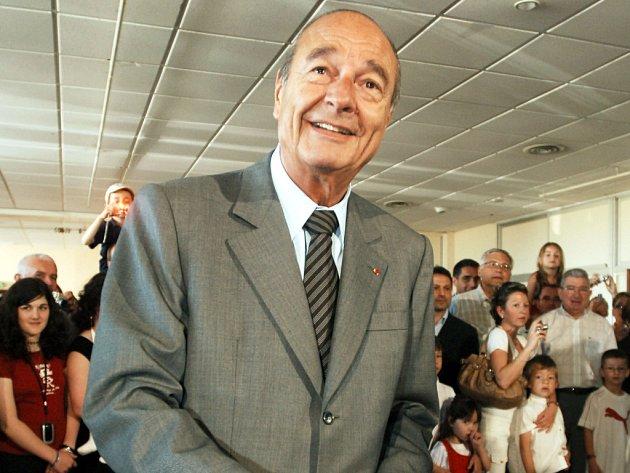 Jacques Chirac, který byl ve funkci francouzského prezidenta dvanáct let.