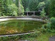 Důlní závod Rolava: nádrž pro plavení rudy