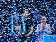 Andy Murray, vítěz Turnaje mistrů a světová tenisová jednička.