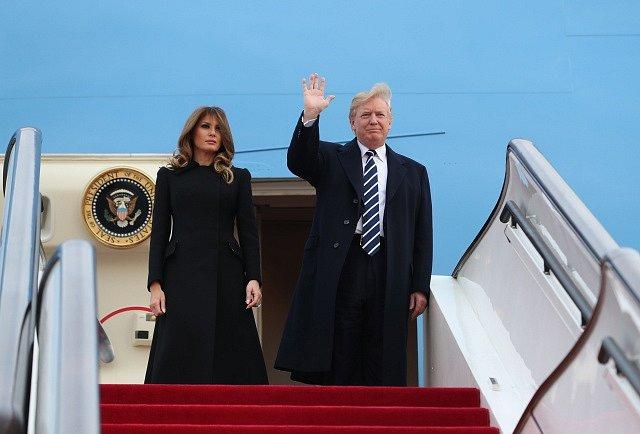 Donald Trump v Číně