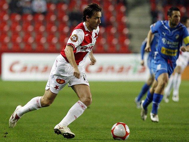 Slávista Vladimír Šmicer po duelu s Plzní oznámil konec své profesionální kariéry.