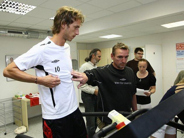 Marek Jarolím testuje svou kondici před nadcházející sezonou.
