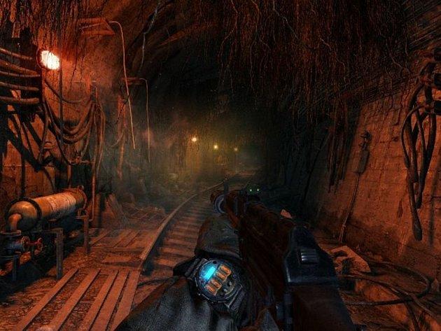 Počítačová hra Metro: Last Light.