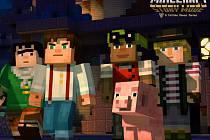 Počítačová hra Minecraft: Story Mode.