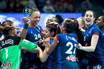 hráčky Francie získaly na ME bronz