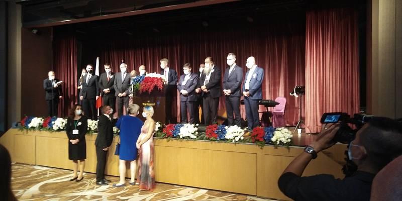 Cesta na Tchaj-wan s českým předsedou Senátu Milošem Vystrčilem.