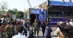 Útok při vojenské přehlídce v Íránu