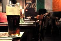 Irský pub, ilustrační foto.