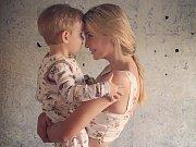 Ivanka Trumpová se synem Theodorem