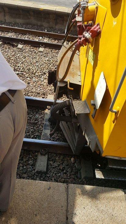 Srážka vlaků v JAR.
