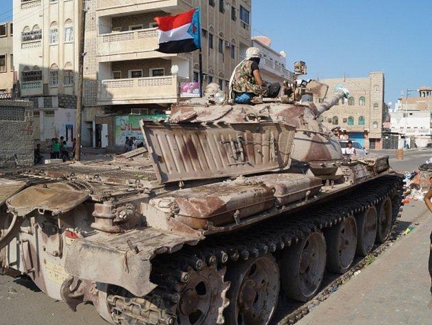 Pozice obsazené šíitskými povstalci. Ilustrační foto.