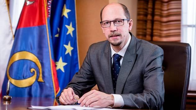 Hejtman Královéhradeckého kraje Jiří Štěpán