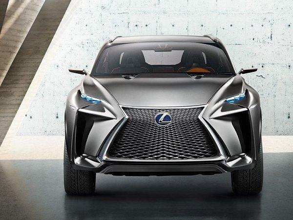 Koncept Lexus LF-NX.