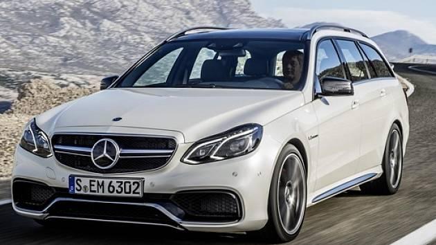 Nový Mercedes E63