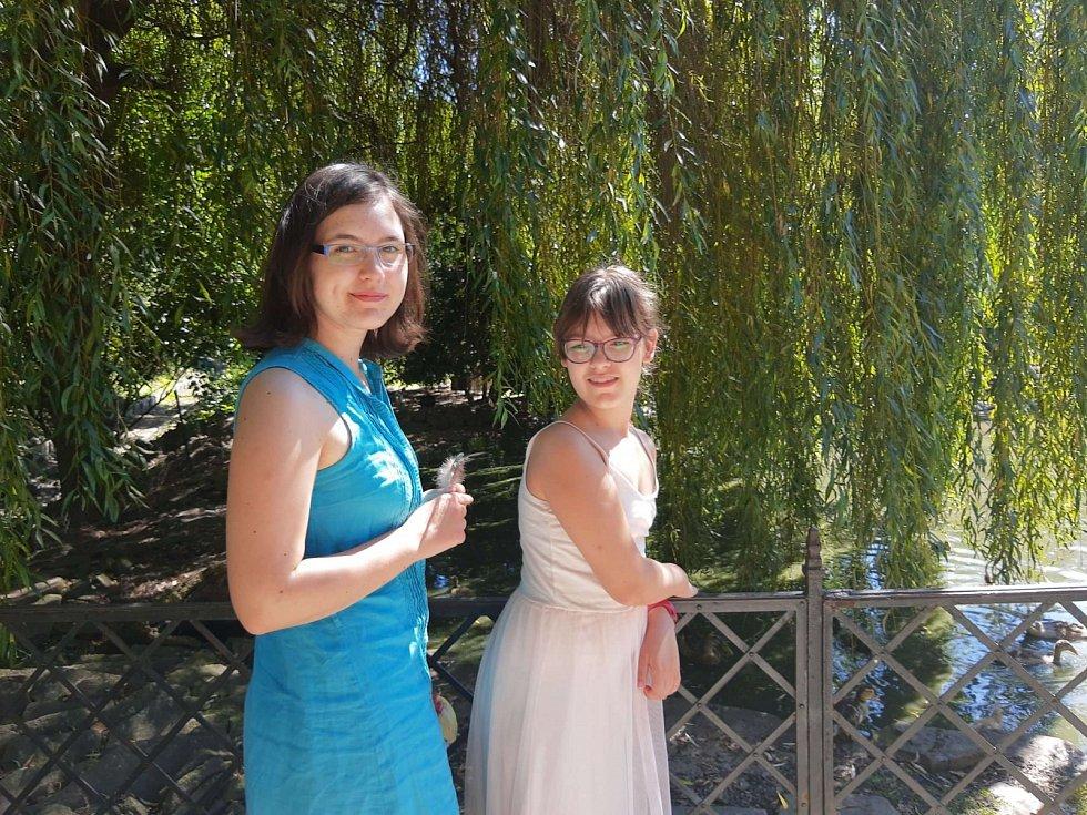 Kristýna a Nela
