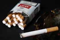 Cigarety, ilustrativní foto