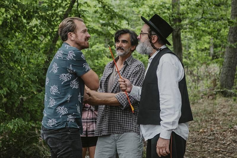 Herci Stanislav Majer, Martin Myšička a Josef Polášek