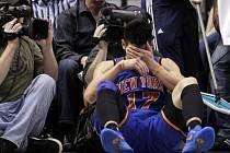 Jeremy Lin na palubovce.
