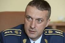 Velitel Hradní stráže Petr Prskavec.