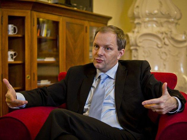 Ministr školství Marcel Chládek.