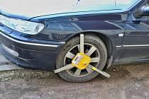 Botička na autě. Ilustrační snímek