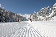 Dubnové lyžování na Stubaiském ledovci v Tyrolsku