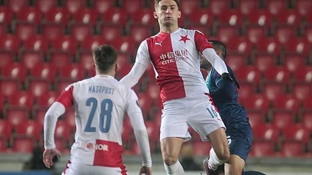 Zápas Evropské ligy UEFA: Slavia - Beer Ševa