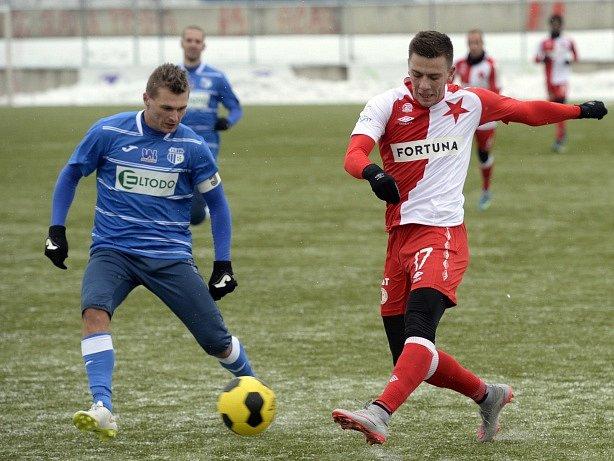 Slavia v přípravě prohrála s Ústím