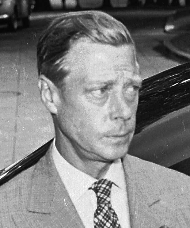 Vévoda z Windsoru, bývalý král Eduard VIII. v roce 1945.