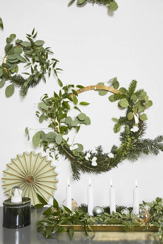 Vánoční výzdoba podle Delie Lachance
