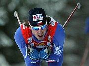 Český běžec na lyžích Martin Koukal.