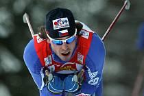 Běžec na lyžích Aleš Razým.