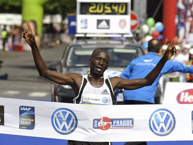 Keňský běžec Eliud Kiptanui.