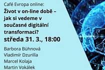 Debata Café Evropa: Zvládá Česko digitální transformaci?