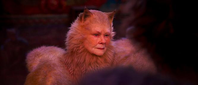 Judi Dench ve snímku Cats.