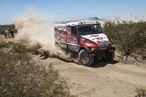 Aleš Loprais na Rallye Dakar 2014.