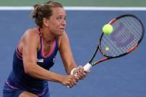 Barbora Strýcová vypadla na US Open hned v prvním kole.