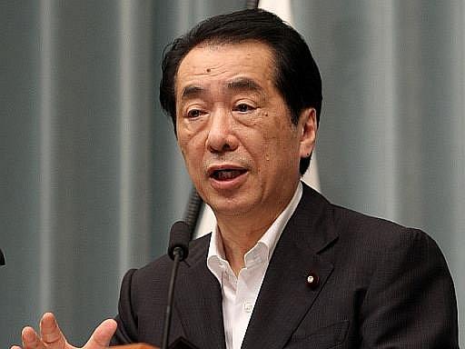 Japonský premiér Naoto Kan