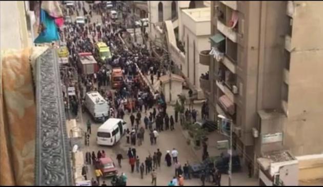Útok vKáhiře na křesťanský kostel