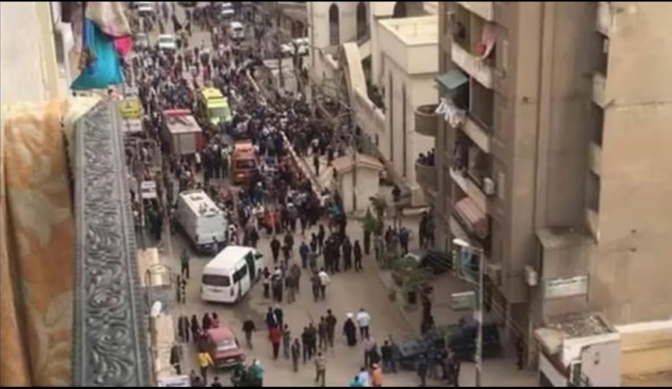 Útok v Káhiře na křesťanský kostel