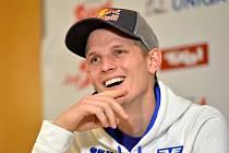 Thomas Morgenstern před závodem v Kulmu hýřil úsměvy. Teď je v nemocnici