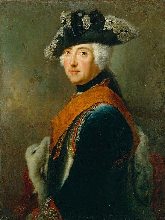 Pruský král, braniborský kurfiřt a jeden z největších vojevůdců 18. století Fridrich II