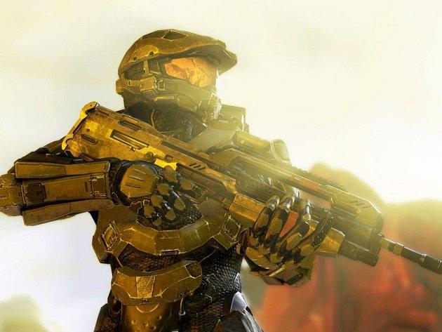 Návrh počítačové hry Halo 4.