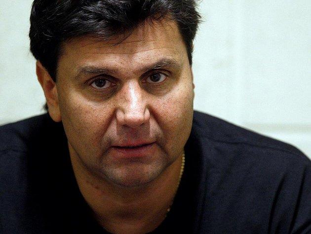 Trenér české hokejové reprezentace Vladimír Růžička.