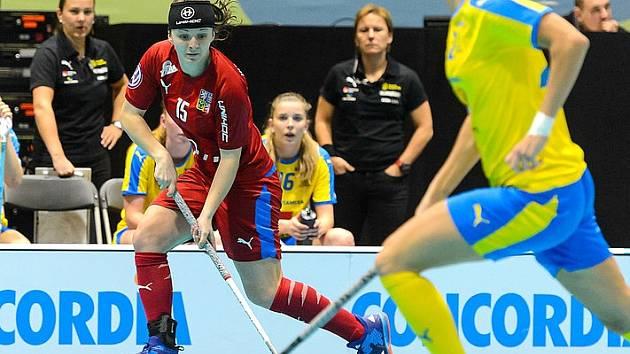 Švédsko - Česko, Natálie Martináková dala dvě branky poražených Češek